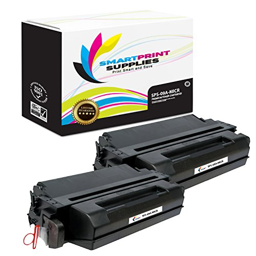 Smart Print Supplies Compatible 09A C3909A MICR Black Toner Cartridge Replacement for HP Laserjet 5si, 5si MX, Optra N, 8000 Series Printers (15,000 Pages) - 2 Pack