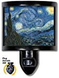Decorative Night Light Van Gogh Starry Night Fine Art