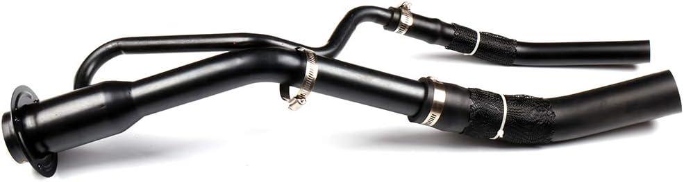 LUJUNTEC F85Z9034TA 688014 Gas Tank Fuel Filler Neck Tube Pipe Fits 1997-1998 Ford F-150 1997-1998 Ford F-250 1997 Ford F-250 HD