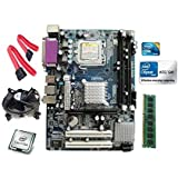 Intel Core 2 Duo E8400 3.0 GHZ + Zebronics G41 Motherboard + 2 GB DDR3 RAM