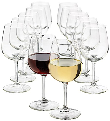 Glassware White Wine (Libbey 12.5-Ounce Wine Party Glass, 12-Piece Set)
