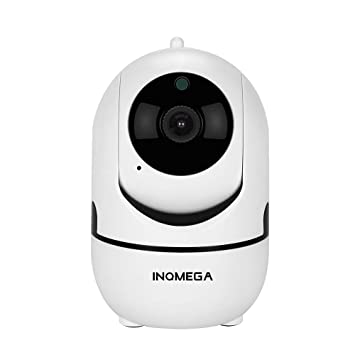 INQMEGA FHD 1080P WiFi Home IP Camera, Indoor Pan/Tilt 2 4Ghz Wireless  Security Camera,Nanny cam with Auto Tracking, Cloud Service, Night Vision,  Two