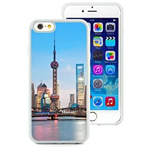 New Beautiful Custom Designed Cover Case For iPhone 6 4.7 Inch TPU With Shanghai Cityscape (2) Phone Case