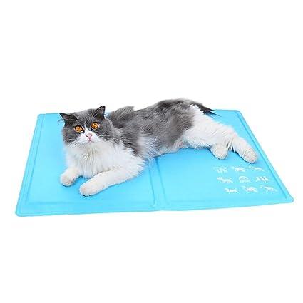 XULO Gato Mascota Gato Cool Mat Gel De Enfriamiento Automático Colchoneta Colchón De Cama Alivio De