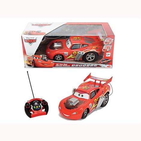 Disney Pixar CARS RC 1 12 ULT MQ Q413 - HOT ROD FERNBEDIENUNG McQueen
