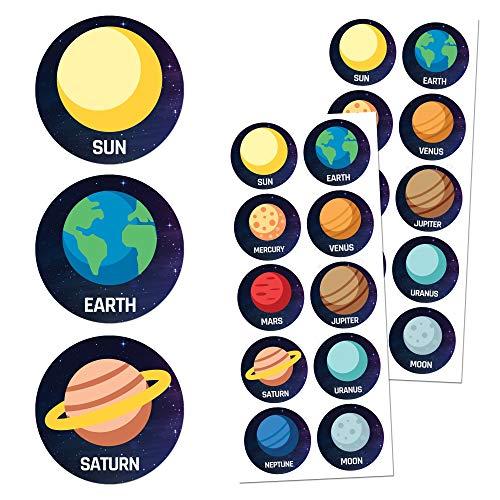TownStix Space Children Sticker Set, 1.5