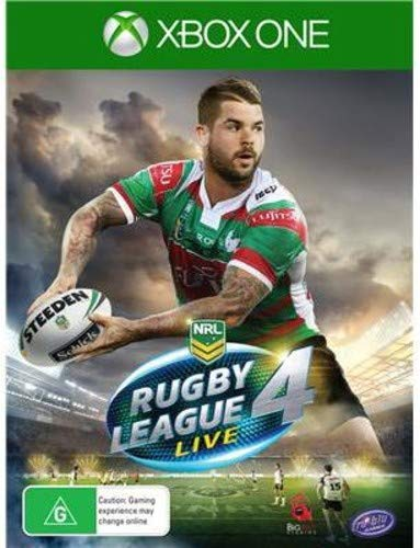 Video Game : Rugby League Live 4 Xbox One
