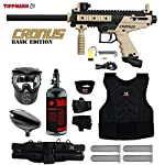 MAddog Tippmann Cronus Tactical Starter Protective HPA Paintball Gun Package