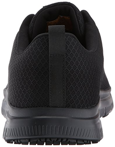 Skechers Mens Flex Advantage Bendon Work Shoe Black