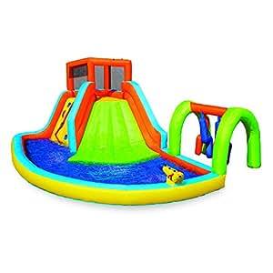 Banzai Splash Camp Adventure Inflatable Water Park