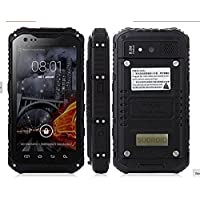 Sudroid Water Proof Dual Core and Card Smart Phone with 8m Camera Unlocked (Black)