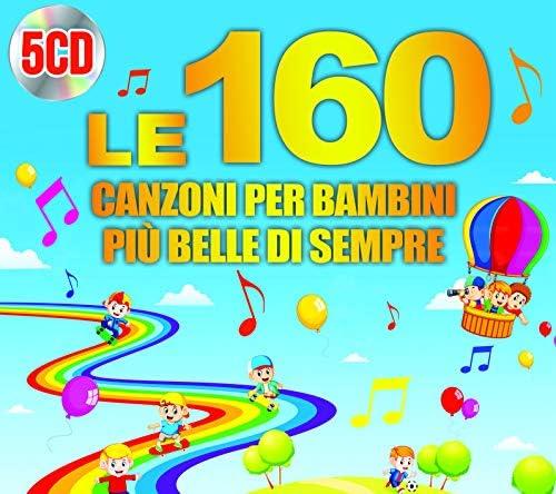 Le 160 Canzoni Per Bambini Più Belle Di Sempre (Box 5 Cd)
