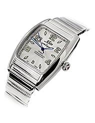 Xezo for Unite4:good Incognito Automatic Watch, Swiss Sapphire Crystal, Citizen Movement, 10 ATM, Retro