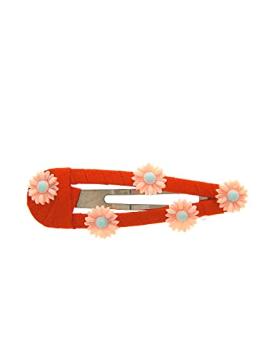 Anuradha Art Orange Colour Wonderful Classy Banana Clip for Women//Girls