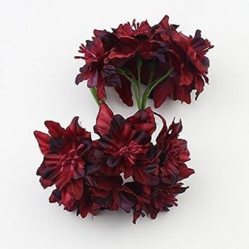 6stuck 5 Cm Orchidee Kunstliche Bouquet Von Blumen Die Seide Blume