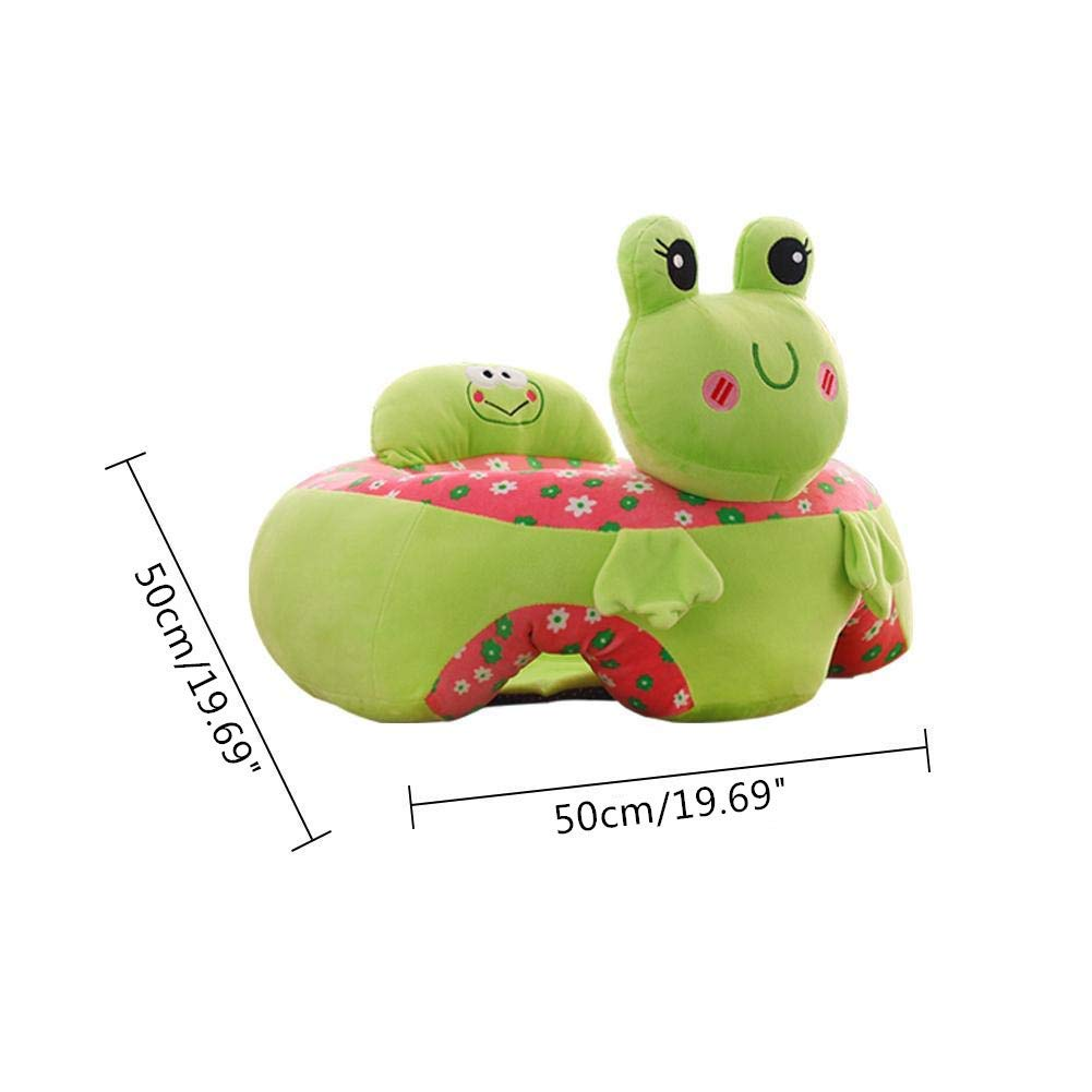 Animal Shaped Plush Soft Baby Learning to Sit Chair Childrens Plush Toy for 4-12 Months Baby Blue Dog Suneast Baby Support Seat Sofa