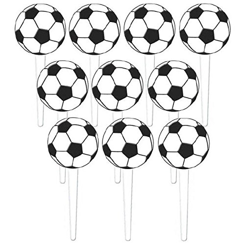 Ball Topper - Amscan Soccer Party Picks