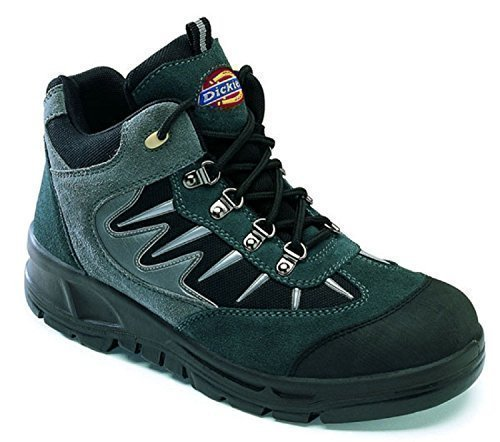 Men's Workwear Safety Work Footwear Dickies Storm Hiker Safety Boots Steel Toe Cap (Uk Size 11) MTpeyF7PM