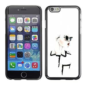 For Apple iPhone 6(4.7 inches) Case , Design Clothing Chique Glamorous - Diseño Patrón Teléfono Caso Cubierta Case Bumper Duro Protección Case Cover Funda