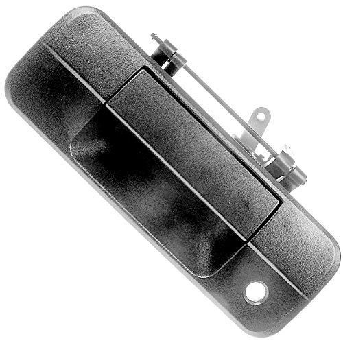 APDTY 92324 Tailgate Lift Latch Handle w/ Keyhole Fits 2007-2013 Toyota Tundra (Replaces 690900C040, 69090-0C040)