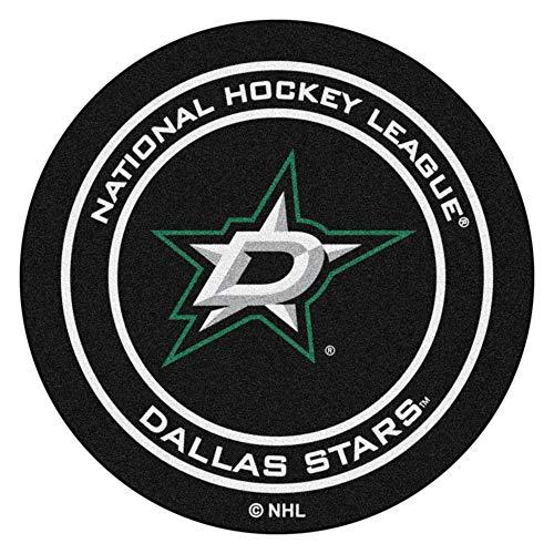 FANMATS NHL Dallas Stars Nylon Face Hockey Puck Rug