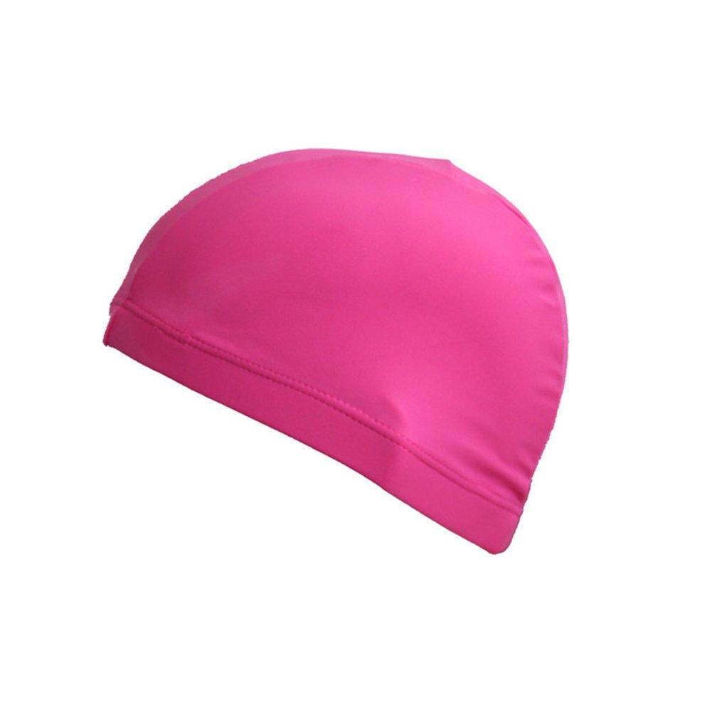 Unisex XL Rust Color Lycra Swim Cap