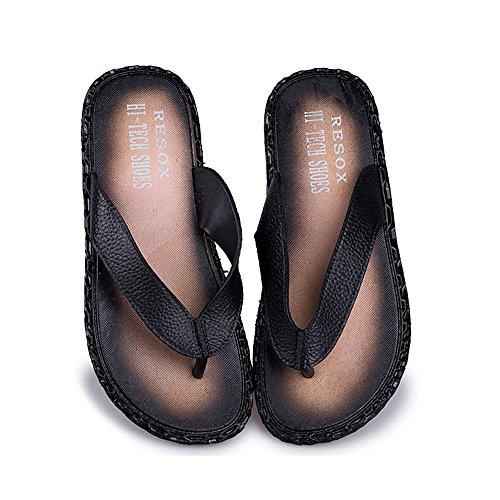 Sandals Flip Classiche Nero Scarpe Flops Pantofole Beach da Cricket Uomo da qZwFY4a