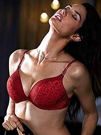 de3f67f5ef Image Unavailable. Image not available for. Color  Victoria s Secret Womens  Bombshell Limited Edition Add-2 cups Push-up Bra 34AA Ignited