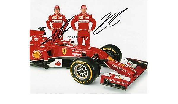 GIFTEDBOX – Foto firmada de edición limitada de Kimi Raikkonen ...