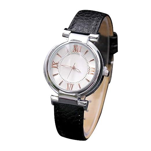 Rosepoem - Reloj de Pulsera de Cuarzo para Mujer Reloj de Pulsera Elegante y Casual Reloj de Cuarzo para Empresas: Amazon.es: Relojes