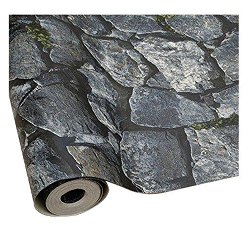 YUELA 10M-Extre grande de color gris natural de ladrillo del ...