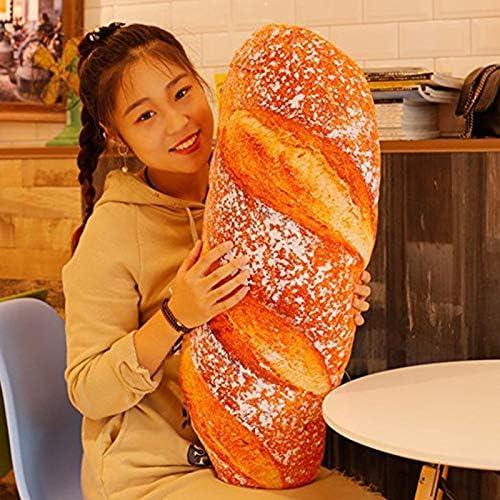 Outtybrave Coussin 3D en Forme de Pain pour Simulation de Nourriture Jouet de d/écoration dint/érieur Cadeau Amusant Butter Bread 30 cm