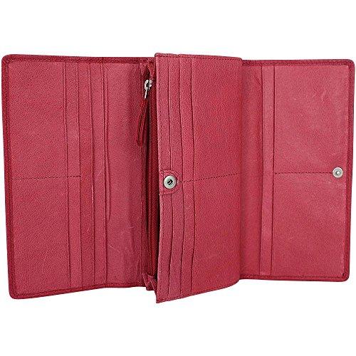 Liebeskind Leonie R Geldbörse Leder 19 cm Cherry Blossom Red