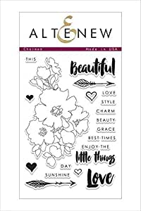 Altenew Clear Stamps, Charmed