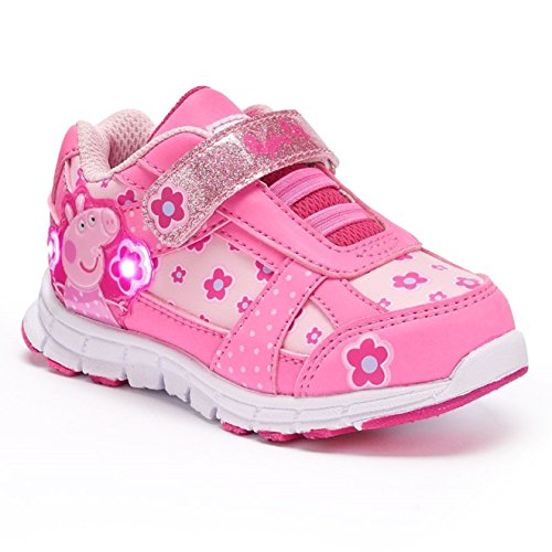 Toddler Girls' Peppa Pig Shoes, Light-Up Toddle : 7