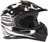 Typhoon Kids Youth Offroad Helmet DOT Motocross ATV Dirt Bike MX Motorcycle Spiderman Red, X-Large