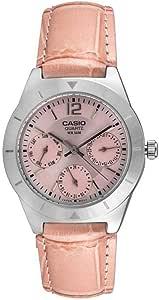 ساعة كاسيو LTP-2069L-4AVDF القياسية انالوج للنساء
