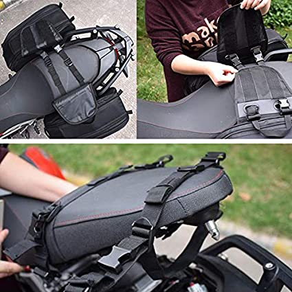 Universal Saddle bags// 36-58L Expandable Capacity Motorcycle Saddlebags Waterproof Travel Luggage Side Bags Motorbike Panniers