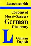 img - for Condensed Muret-Sanders Dictionary: German / English by Muret-Sanders (1982-12-06) book / textbook / text book