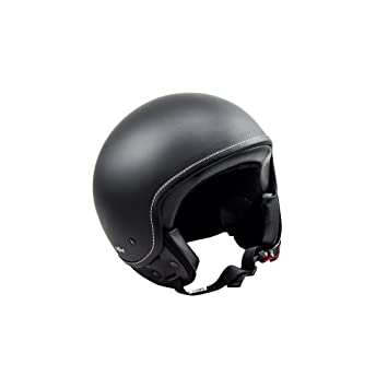 SOXON SP-301 Night Casco Demi-Jet Mofa Bobber Vespa Helmet Retro Scooter Piloto