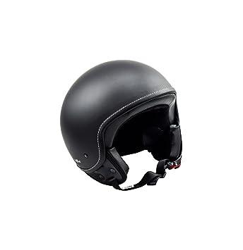 SOXON SP-301 Night Casco Demi-Jet Mofa Bobber Vespa Helmet Retro Scooter Piloto
