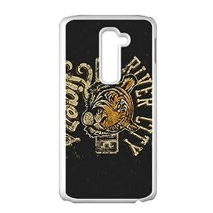 Scarlet Skull Custom Protective Hard Phone Cae For LG G2