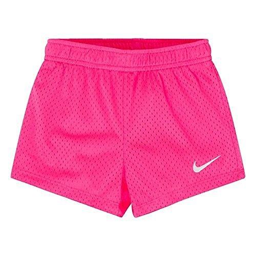 Nike Kids Girl's Classic Mesh Shorts (Little Kids) Hyper Pink 6 -