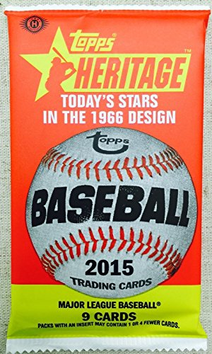 Autographed Baseball Pack (2015 Topps Heritage Baseball HOT PACK Autographed/Relic/Jersey Bryant?)