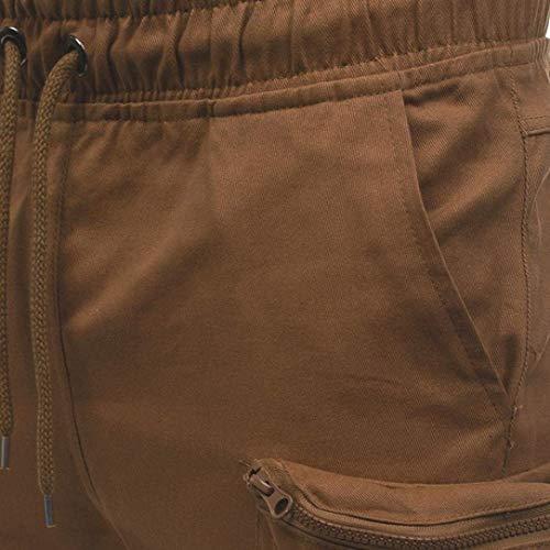 Brown Completo Coulisse Da Uomo Pantaloni Con Felpa Sportivi Borsa Targogo z1wqfHWW