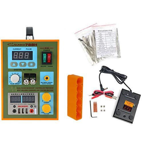 SUNKKO S788H-USB Precision Pulse Spot Welder +CC-CV Charge+Power Bank Test 220V