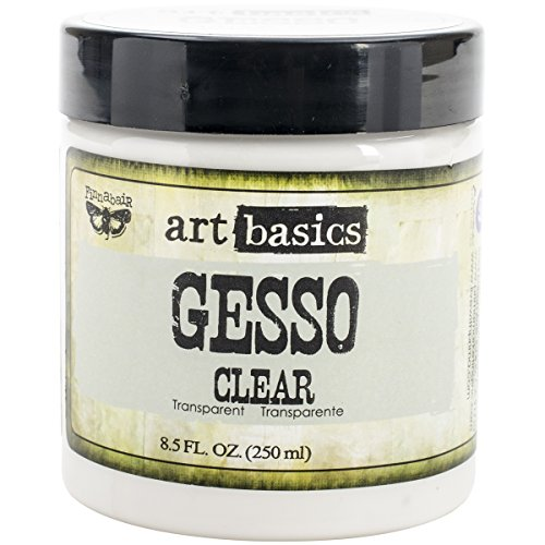 Prima Marketing 961466 Art Basics Gesso, 8.5-Ounce, Clear
