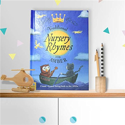 Personalised childrens book traditional nursery rhymes hardback personalised childrens book traditional nursery rhymes hardback baby gift negle Choice Image