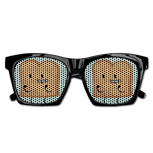 Xing Stars Colorful Summer Unisex Funny Toast Bread Fashion Party Costume Sunglasses