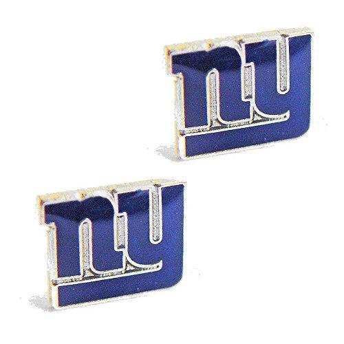 NFL New York Giants Sports Team Logo Women Girls Fashion Wear Post Stud Charm Gift Earring Set